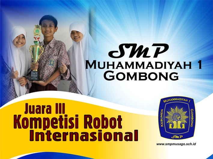 Juara III Kompetisi Robot Internasional